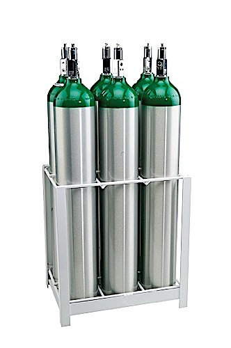 OX-155 - MRI Non-Magnetic 6 Cylinder Holder