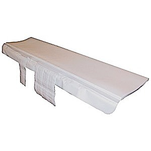 THE SHIELD, CT TABLE PAD W/SLIDE AND STRAPS