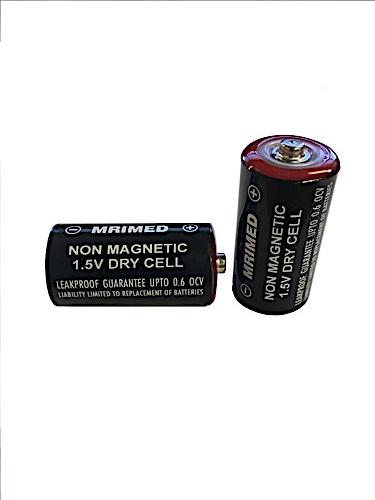 MRI Non-Magnetic C Size Batteries (2pk)