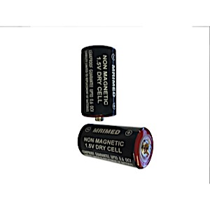 MRI Non-Magnetic C Size Batteries (4pk)