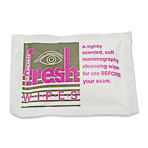 Mammography Cleansing Towelettes