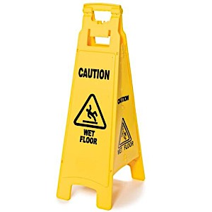 MR Safe Wet Floor Sign