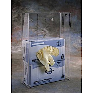 MRI Disposable Glove Box Holder (Triple)