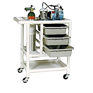 MRI PVC Crash Cart