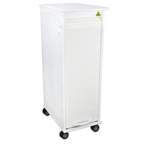 MRI Lockable Roll Top Cart