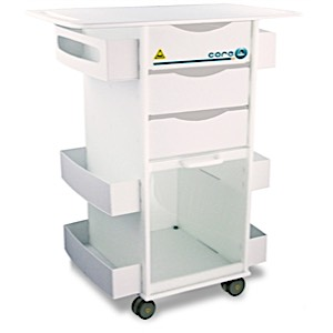 MRI Deluxe Lab Cart w/ Extended Top