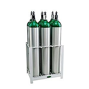 MRI compatable 6 E cylinder rack
