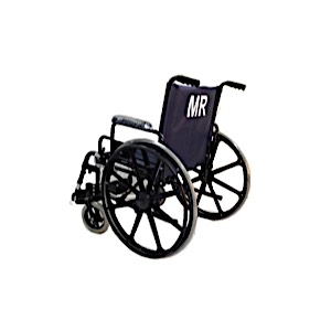 "20"" Wide Non-Ferrous Wheelchair"