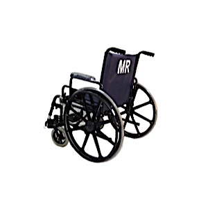 "24"" Wide Non-Ferrous Bariatric Wheelchair"