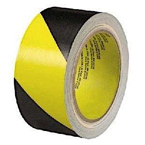 "3"" x 36 yards Yellow/Black Vinyl Safety Tape"