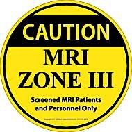 """17"""" Diameter Zone III Floor Sticker"""