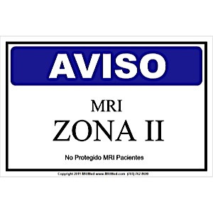 MRI Spanish Zone II Sign