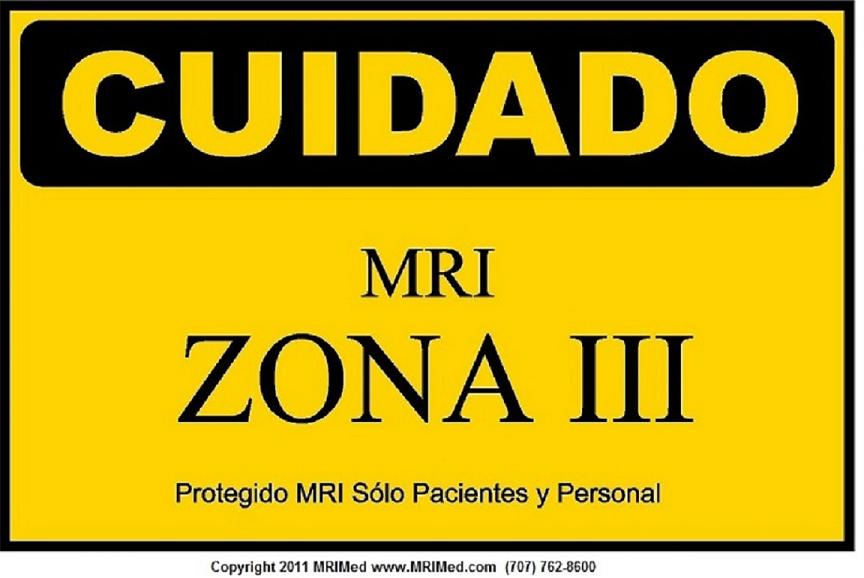 MRI Spanish Zone III Sign