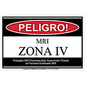 MRI Spanish Zone IV Sign