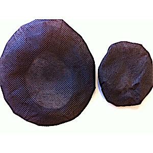 Small Black Sanitary Headphone Covers