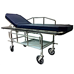MRIMed Stainless Steel Non-Magnetic, Bariatric Stretcher