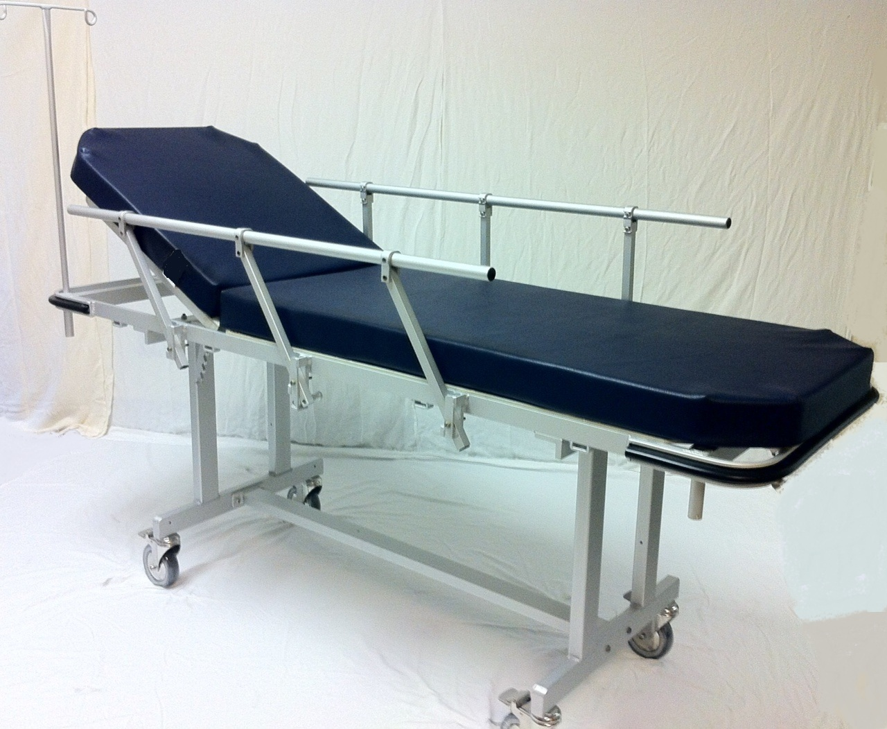 MRIMed Bariatric Aluminum Non-Magnetic Stretcher