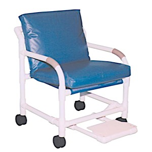"MRI-Conditional 20"" PVC Transfer Chairs"