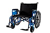 "MR Conditional 26"" Bariatric Wheelchair 850lb Cap"