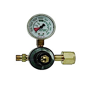 MRI Compatible Pre Set 50PSI Oxygen Regulator CGA 540