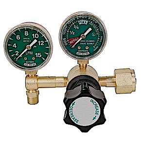 MRI Compatible Oxygen Flow Control Regulator CGA 540
