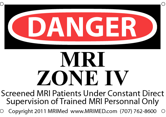 MRI Zone IV Sign