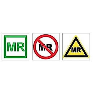 ASTM Labels MR Safe 50pk